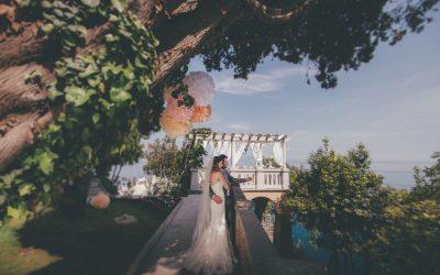 Bajkovito boho vjenčanje u vrtu vile