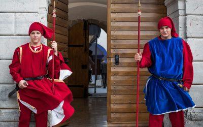 Romantično vjenčanje u dvorcu
