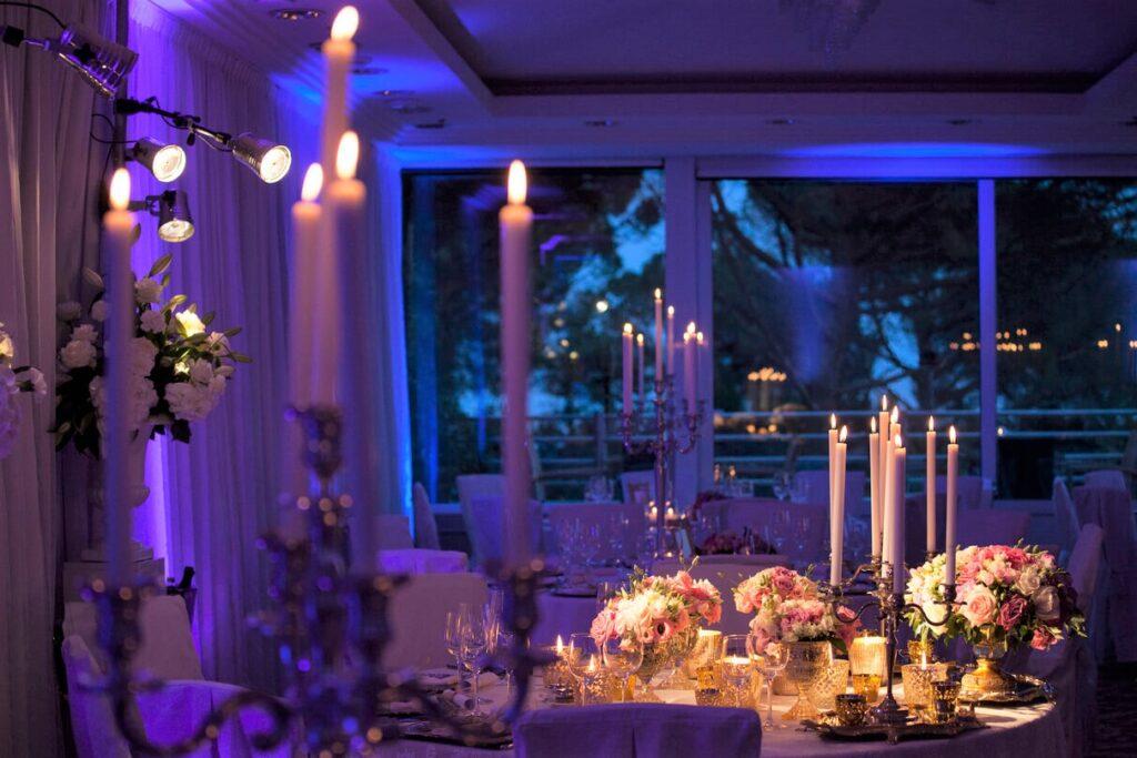 A classic romantic wedding
