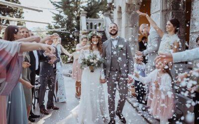 Boho vjenčanje u vili