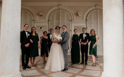 Glamurozan dodir boho vjenčanja