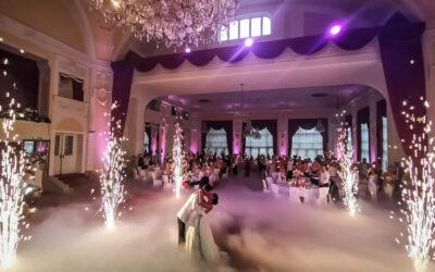 Bajkovito vjenčanje s plesom anđela