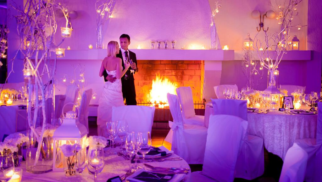 ambiental light for weddings