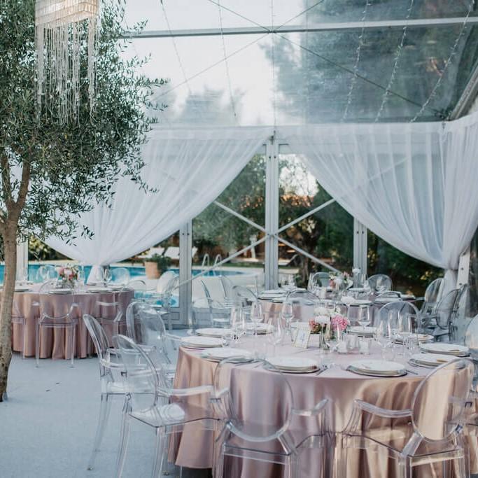 stolice za vjenčanja